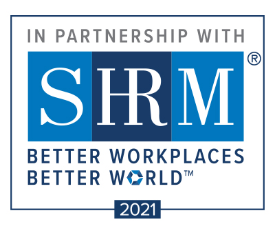 2021 SHRM Logo for education partners