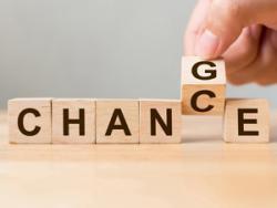 """block letters changing from """"change"""" to """"chance"""""""