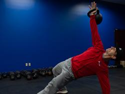 Brad Partridge, personal trainer and owner of Forward Motion Fitness