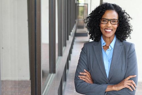 Photo of a Black busines woman
