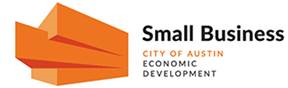 Logo for the City of Austin's Small Business Program