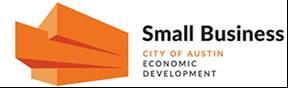 Logo for the City of Austin's Small Business Program