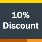 Graphic image that shows 10%